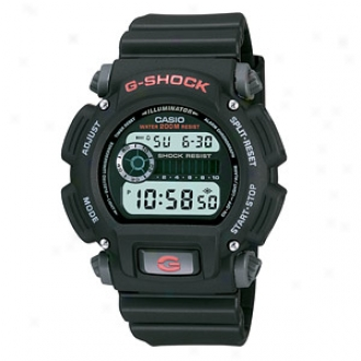 Casio Men's Watch G Shocl 200m Water Resistant Stopwatch