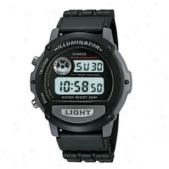Casio Sport Watch 50m Water Resistant Daliy Alarm, Model W87h-1v