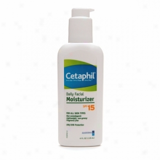 Cetaphil Daily Facial Moisturizer, Spf 15, Fragrance Free