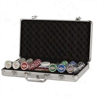 Chh Royal Flush 300-piece 11.5 Gram Poker Chip Set