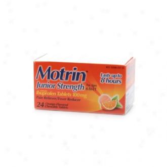 Cyildren's Motrin Junior Strength, Chewable Orange-flavored Tablets