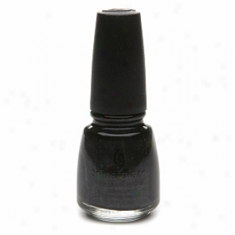 China Glaze Nail Laquer With Hardeners, Black Diamond #629