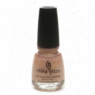 China Glaze Nail Laquer Through  Hardeners, Golden Meringue #072