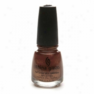 China Glaze Nail Laquer With Hardeners, In Awe Of Amber #589