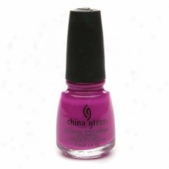 China Glaze Neon Nail Laquer With Hardeners, Purple Panic #1008