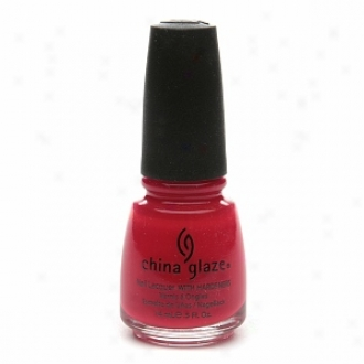 China Glaze Neon Nail Laquer With Hardeners, Roae Amnog Thorns #1012