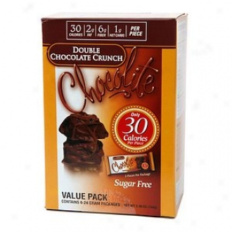 Chocolite Sugar Free Chocolate Packs, Double Chocolate Crunch