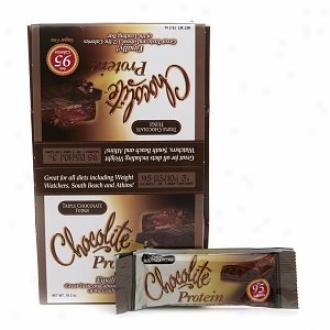 Chocolite Sugar Free Protein Bars, Triple Chocolate Fudge