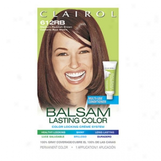 Clairol Balsam Color Liqudi Haircolor, Medium Reddish Brown 612rb