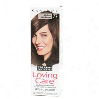 Clairol Loving Care Haircolor, Medium Ash Brown 067