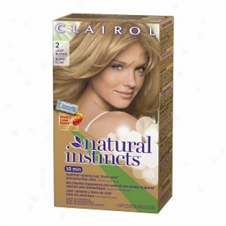 Clairol Natural Instincta Haircolor, Light Blonde 002