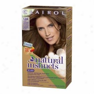 Clairol Natural Instincts Haircolor, Navajo Bronze Lihgt Caramel Brown 12a