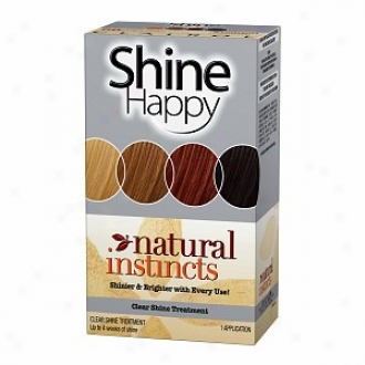 Clairol Natural Instincts Haorcolor, Shine Happy Clear Brightness Treatment 00