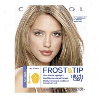 Clairol Nice 'n Easy Frost & Tip Ultra Blonde Highlights Conditioning Creme Formula, Creme