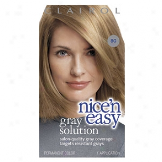 Clairol Nice 'n Easy Gray-haired Solution Hair Distort, Mean average Gold Blonde 008g