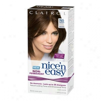 Clairol Nice'n Easy Non-permanent Hair Disguise Application, Means Brown 765