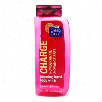 Clean & Clear Body Morning Burst Bulk Wash, Charge, Pomegranate & Orange Zest