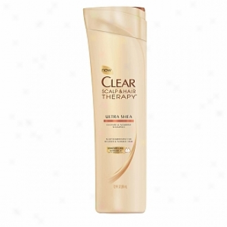 Clear Scal0 & Hair Therapy Cleanse & Nourish Shampoo, Ultra Shea