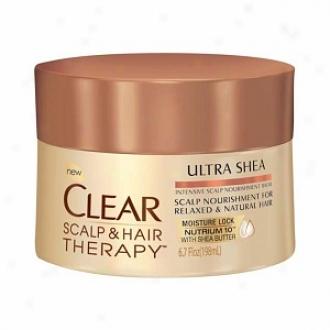 Clear Scalp & Hair Therapy Intensve Scalp Nourishment Balm, Ultraist Shea
