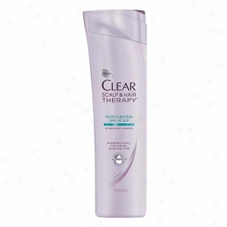 Clear Scalp & Hair Therapy Nourishing Shampoo, Moisturizing Dry Scalp