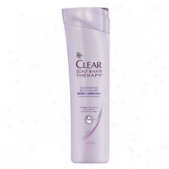 Clear Scalp & Hair Therapy Nourishing Shampoo, Volumizing Root Boost