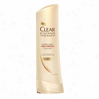 Clear Scalp & Hair Therapy Smooth & Nourish Conditioner, Ultra Shea