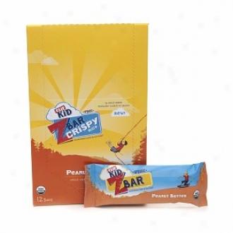 Clif Kid Zbar Crispy Rice Organic Whole Dye Rice Crispy Bars, Peanut Butter