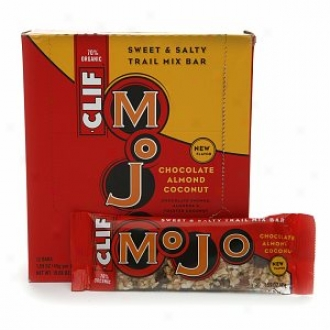 Clif Mojo Bar Sweet & Salty Drag Mix Bars, Chocolate Almond Coconut
