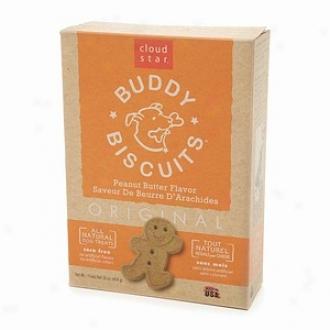 Cloud Star Original Buddy Biscuits, Peanut Butter