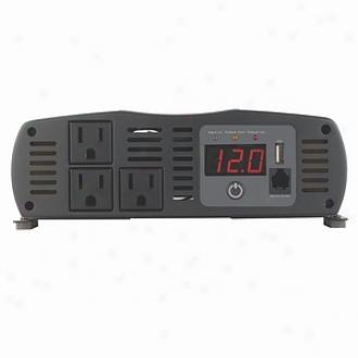 Cobra Electronics Power Inverter, 1500-watt 12-volt Dc To 120-volt Ac, Cpi 1575