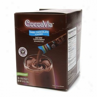 Cocoavia Cocoa Extract Dark Chocolate Drink Mix, Unsweetened