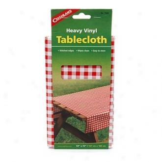 Coghlan's Clammy  Vinyl Tablecloth  54 X 27 Inch, Checkered