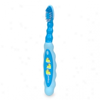 Colgate Children's Toothbrush, Ages 0-2, Baby Theme, Extra Soft