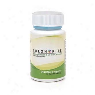 Cokon-rite Natural Detox & Colon Cleanser 500 Mg Capsules