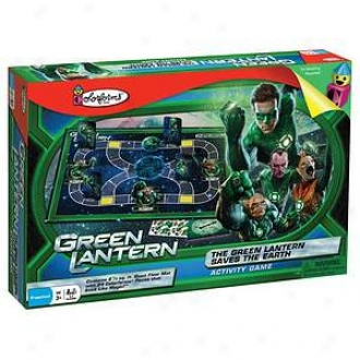 Colorforms The Green Lantern Saves The Earth Activity Game Ages 3+