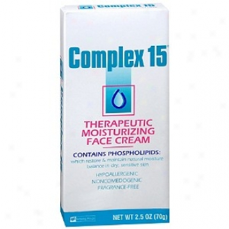 Complex 15 Thedapeutic Moistjrizing Face Cream