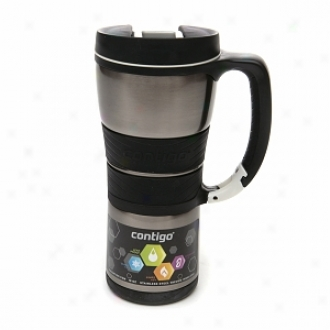 Contigo Extreme Stainless Steel Insulated Travel Mug (16 Oz), Silver