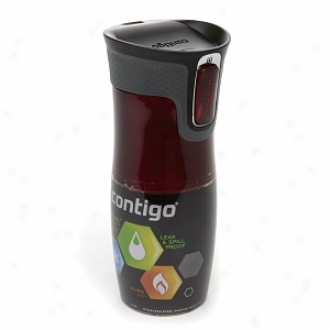 Contigo West Loop Travel Mug With Auto Seal Technology (16 Oz), Red