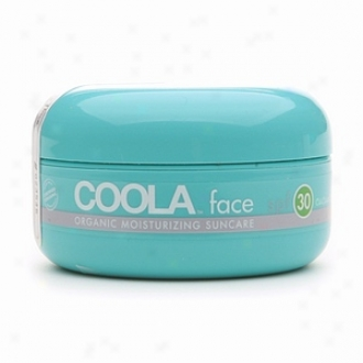 Coola Face, Organic Moisturizing Suncare, Spf 30, Cucumber