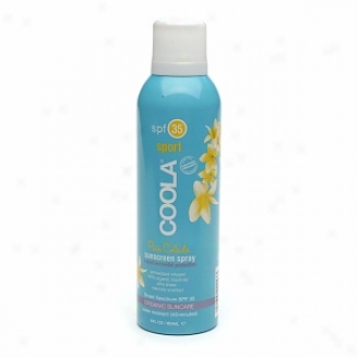 Coola Sport Continuous Spray Sunscreen Spf 35, Pina Colada