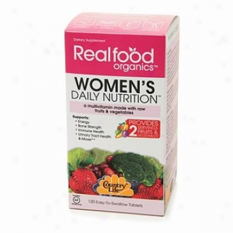 Country Life Realfood Organics Women's Daily Nutdition, Tablets