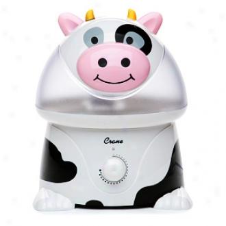 Crans Adorable Humidifier 1 Gallon Ultrasonic, Cow