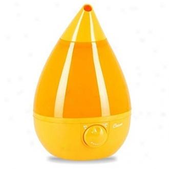 Crane Fashionqble Drop, Ultrasonic Humidifier, 1 Gallon, Orange