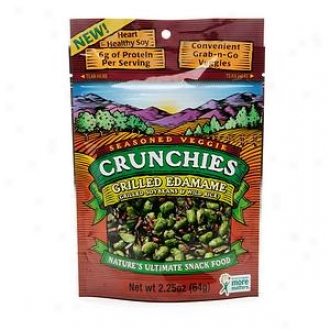 Crunchies Freeze Dried Snack Food, Grilled Edamame With Wild Rice