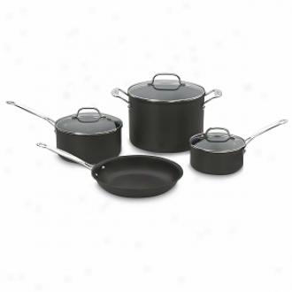 Cuisinart 66-7 Chef's Classic Hard Anodized Non-stick 7-piece Cookware Set