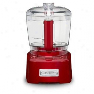Cuisinart Ch-4mr Elite Collection 4 Cup Chopper/grinder, Metallic Red