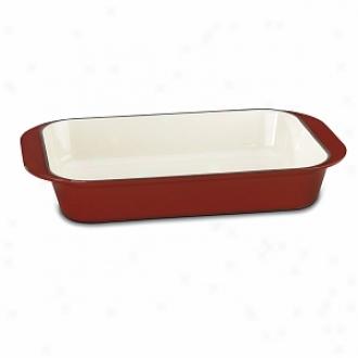 Cuisinart Ci1136-24cr 14   Roassting/ Lasagna Pan, Cardinal Red