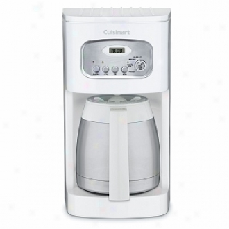 Cuisinart Dcc-1150 10-cup Thermal Programmable Coffeemaker, White