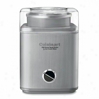 Cuisinart Ice-30bc Pure Indulgence 2-quart Frozen Yogurt-sorbet Ice Cream Maker