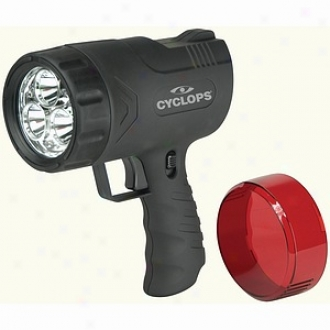Cycloops Thor X Sirius 9 Watt, Rechargeable Hand Held Spotlight